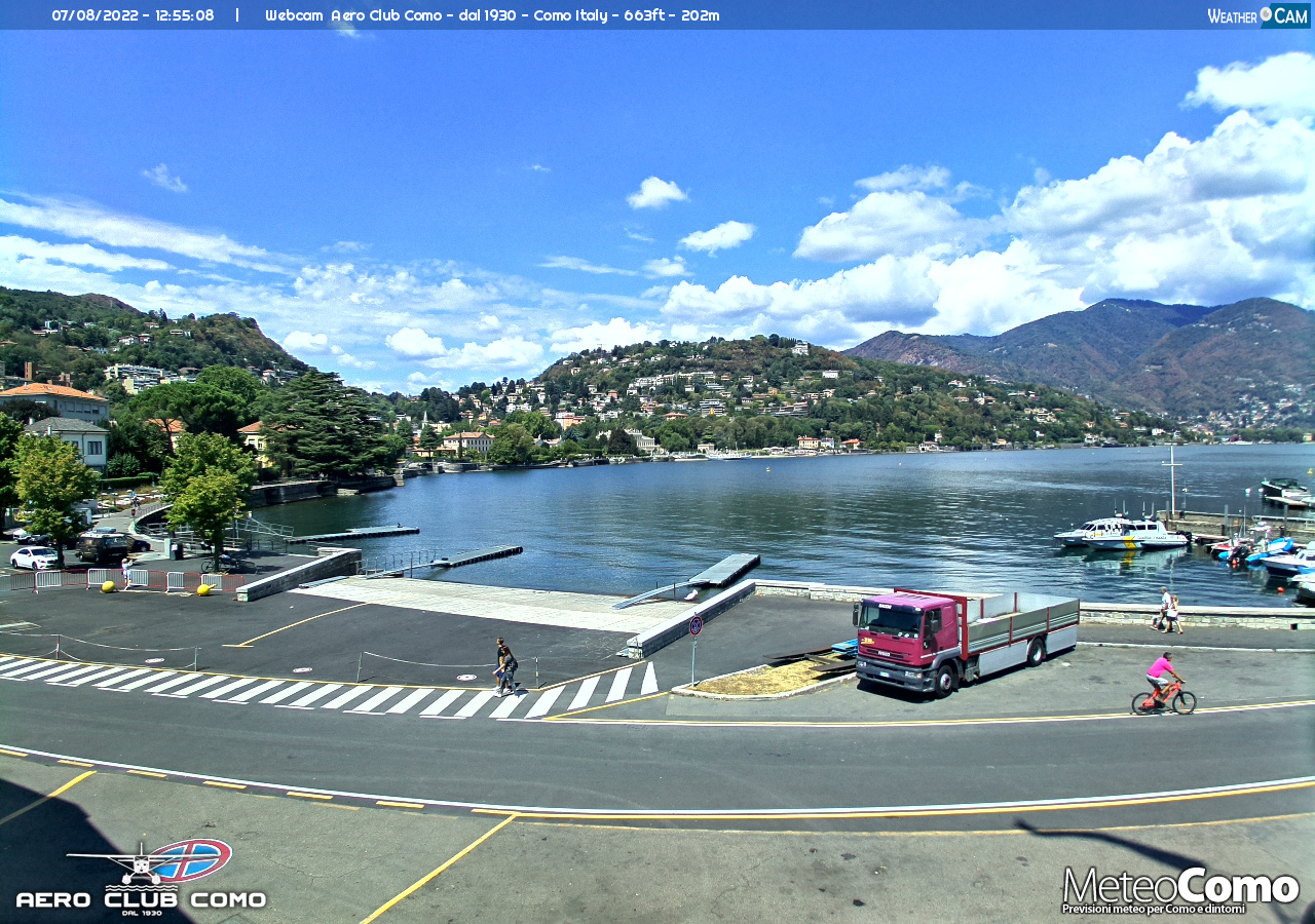 Webcam Como Lago